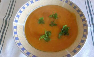 Суп с топинамбуром (Веган)