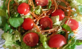Шаг 6: И вы сотворили настоящую магию - кладезь витаминов на вашем столе! Приятного аппетита.