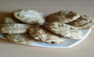 Овсяное печенье с изюмом и кокосовой стружкой