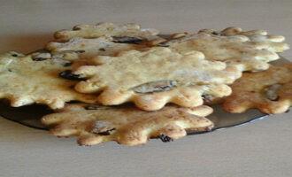 Творожное печенье с рисовой и кукурузной мукой