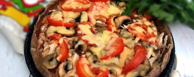 Пицца из ржаной муки