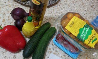 Шаг 1: Подготовьте все необходимые ингредиенты. Вымойте.