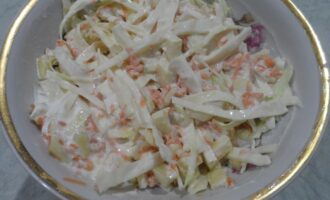 Диетический салат без глютена