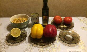 Шаг 1: Приготовьте все ингредиенты согласно списка.