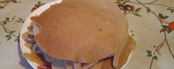 Десерт из рисовой муки диетический