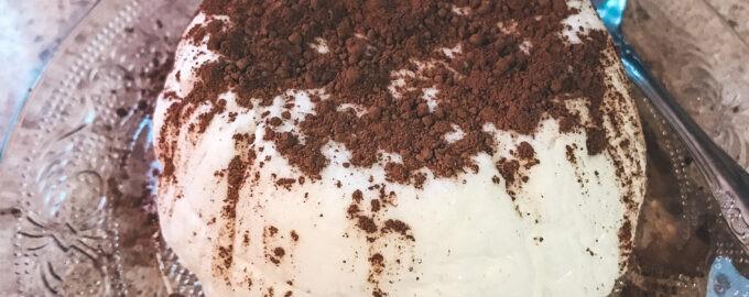 Воздушный белковый десерт