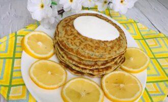 Панкейки с маком и лимоном