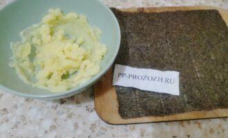 Шаг 4: Пюрерируйте картофель.