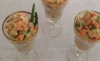 Салат коктейль вегетарианский