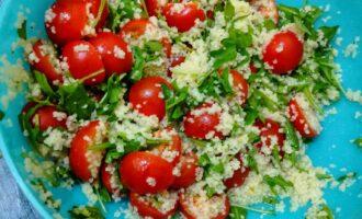 Шаг 5: Ваш салат готов.