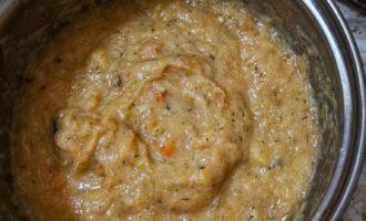 Шаг 5: Возьмите погружной блендер и превратите все в пюре. Ваш суп готов.