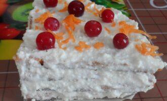 Морковный торт на сковороде