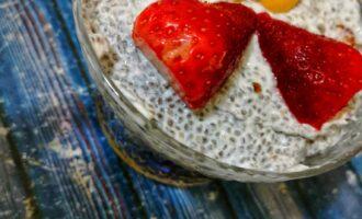 Чиа пудинг с йогуртом