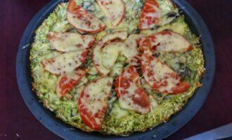 Шаг 10: Достаньте и дайте остыть, и только потом нарежьте на порции и посыпьте мелко нарезанной зеленью.